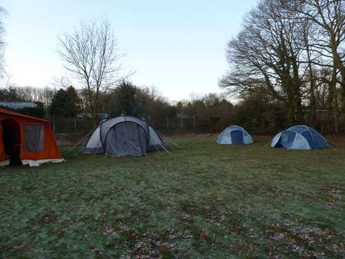 icy tents