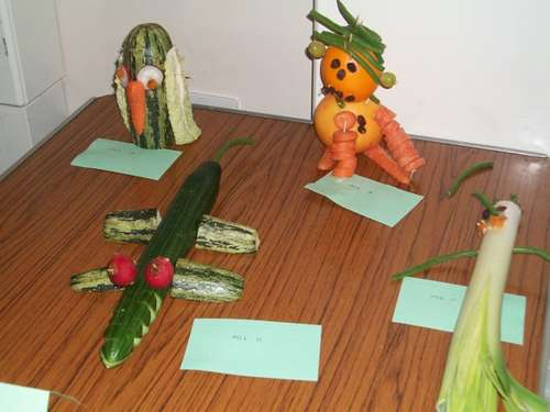 Vegetable people and animals